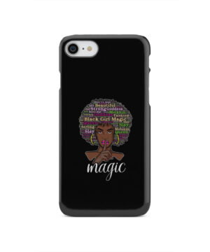 2bunz Melanin Poppin Aba for Amazing iPhone SE 2020 Case Cover