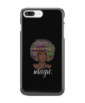 2bunz Melanin Poppin Aba for Beautiful iPhone 7 Plus Case