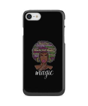 2bunz Melanin Poppin Aba for Custom iPhone 8 Case