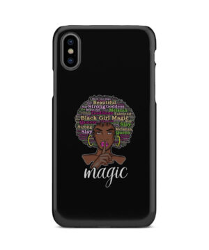 2bunz Melanin Poppin Aba for Cute iPhone X / XS Case