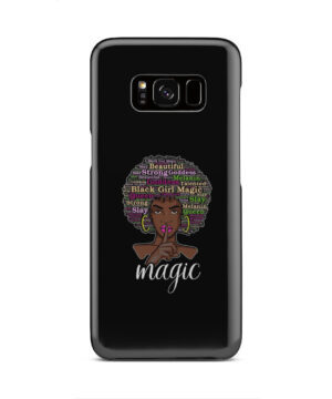 2bunz Melanin Poppin Aba for Newest Samsung Galaxy S8 Case Cover
