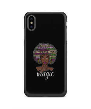 2bunz Melanin Poppin Aba for Personalised iPhone XS Max Case Cover