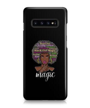 2bunz Melanin Poppin Aba for Trendy Samsung Galaxy S10 Plus Case Cover