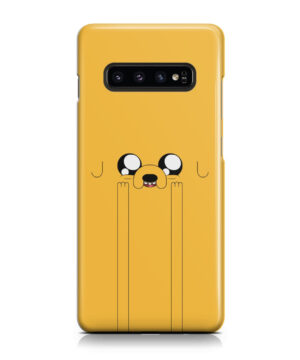Adventure Time Jake The Dog for Amazing Samsung Galaxy S10 Case Cover