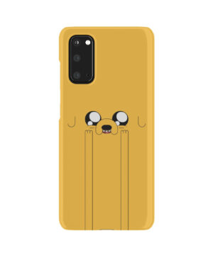 Adventure Time Jake The Dog for Unique Samsung Galaxy S20 Case