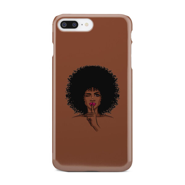 Afro American Girl Art for Amazing iPhone 7 Plus Case Cover
