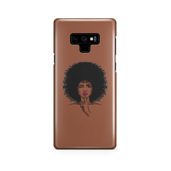 Afro American Girl Art for Best Samsung Galaxy Note 9 Case