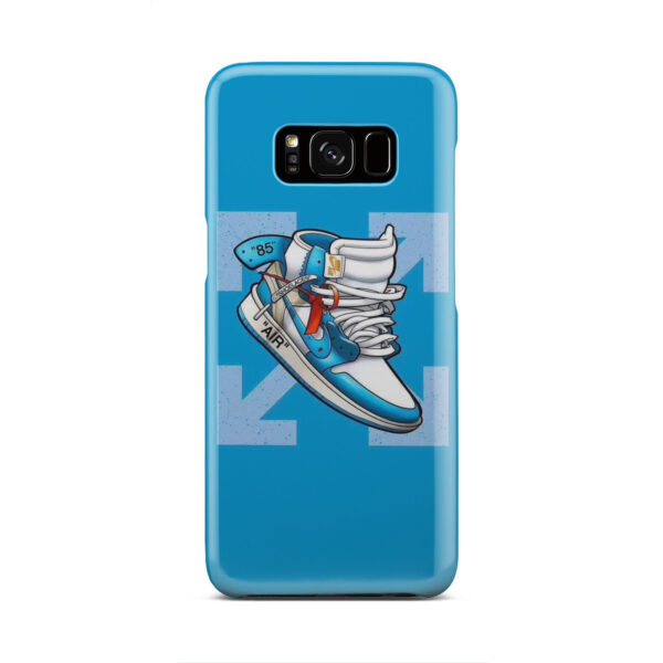 Air Jordan Off White Shoes for Customized Samsung Galaxy S8 Case Cover