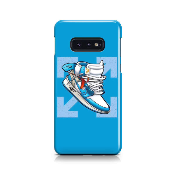 Air Jordan Off White Shoes for Trendy Samsung Galaxy S10e Case Cover