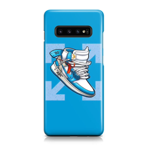 Air Jordan Off White Shoes for Unique Samsung Galaxy S10 Case Cover