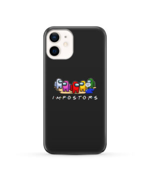 Among Us Impostor for Customized iPhone 12 Case Cover