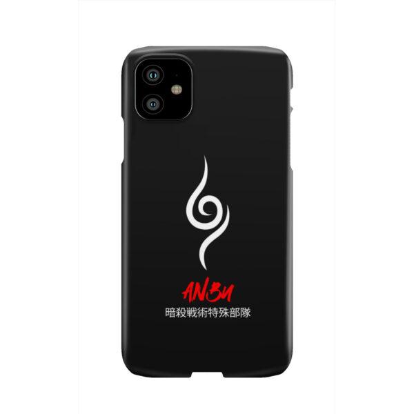 Anbu Symbol Naruto Shinobi for Custom iPhone 11 Case
