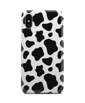 Animal Cow Print for Customized iPhone X / XS Case Cover