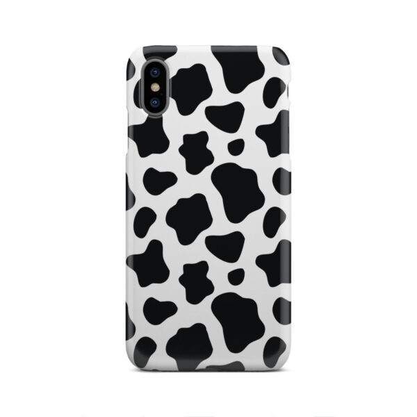 Animal Cow Print for Personalised iPhone XS Max Case