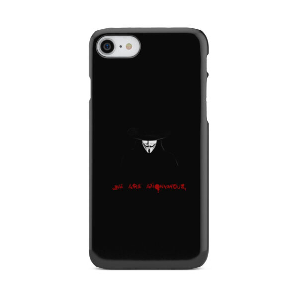 Anonymous V Vendetta for Custom iPhone 8 Case