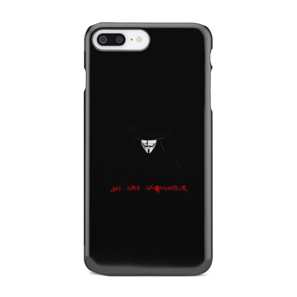 Anonymous V Vendetta for Newest iPhone 7 Plus Case Cover