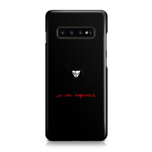 Anonymous V Vendetta for Personalised Samsung Galaxy S10 Plus Case
