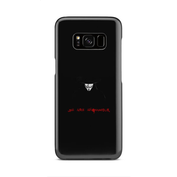 Anonymous V Vendetta for Simple Samsung Galaxy S8 Case