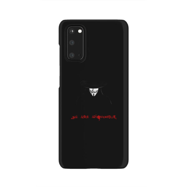 Anonymous V Vendetta for Unique Samsung Galaxy S20 Case