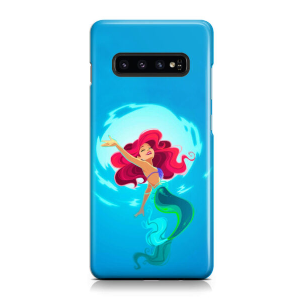 Ariel From The Little Mermaid for Personalised Samsung Galaxy S10 Case