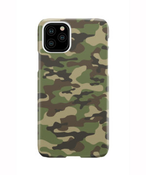 Army Green Military Camouflage for Amazing iPhone 11 Pro Case Cover