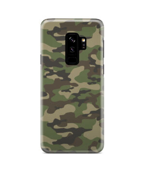 Army Green Military Camouflage for Amazing Samsung Galaxy S9 Plus Case