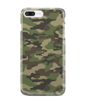 Army Green Military Camouflage for Best iPhone 7 Plus Case