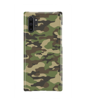 Army Green Military Camouflage for Best Samsung Galaxy Note 10 Plus Case