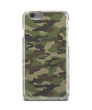 Army Green Military Camouflage for Cool iPhone 6 Case Cover