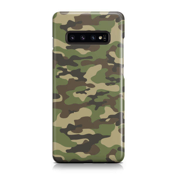 Army Green Military Camouflage for Custom Samsung Galaxy S10 Case