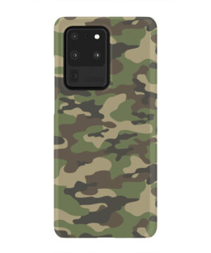 Army Green Military Camouflage for Customized Samsung Galaxy S20 Ultra Case