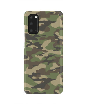 Army Green Military Camouflage for Newest Samsung Galaxy S20 Case Cover