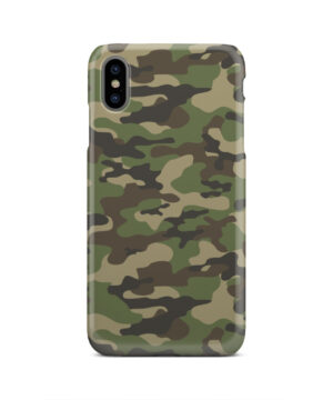Army Green Military Camouflage for Nice iPhone XS Max Case Cover