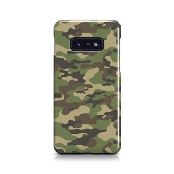 Army Green Military Camouflage for Nice Samsung Galaxy S10e Case
