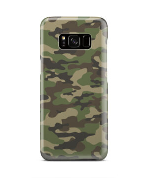 Army Green Military Camouflage for Personalised Samsung Galaxy S8 Case