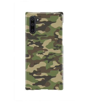 Army Green Military Camouflage for Simple Samsung Galaxy Note 10 Case