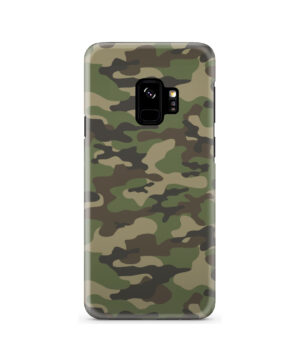 Army Green Military Camouflage for Simple Samsung Galaxy S9 Case