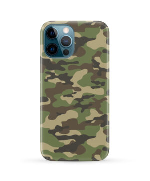 Army Green Military Camouflage for Stylish iPhone 12 Pro Max Case Cover