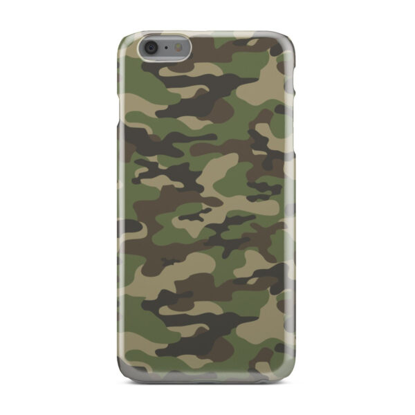 Army Green Military Camouflage for Stylish iPhone 6 Plus Case