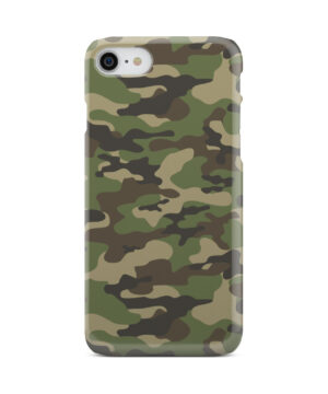 Army Green Military Camouflage for Stylish iPhone 7 Case
