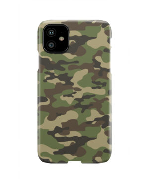 Army Green Military Camouflage for Trendy iPhone 11 Case Cover