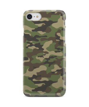 Army Green Military Camouflage for Unique iPhone 8 Case Cover