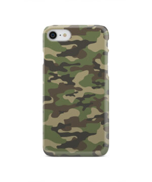 Army Green Military Camouflage for Unique iPhone SE 2020 Case Cover