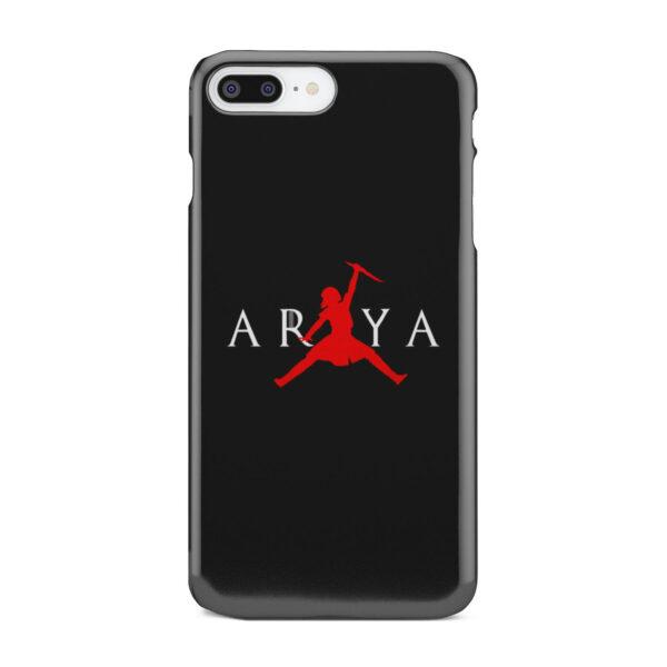 Arya Stark Jordan for Personalised iPhone 7 Plus Case Cover