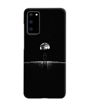 Astronaut On Moon for Personalised Samsung Galaxy S20 Case Cover