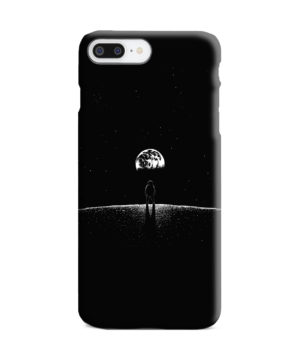 Astronaut On Moon for Stylish iPhone 8 Plus Case