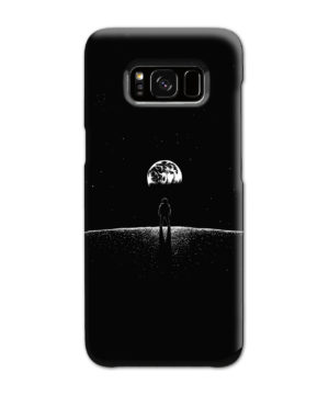 Astronaut On Moon for Trendy Samsung Galaxy S8 Case