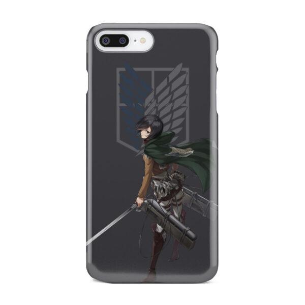 Attack On Titans Mikasa for Amazing iPhone 7 Plus Case Cover