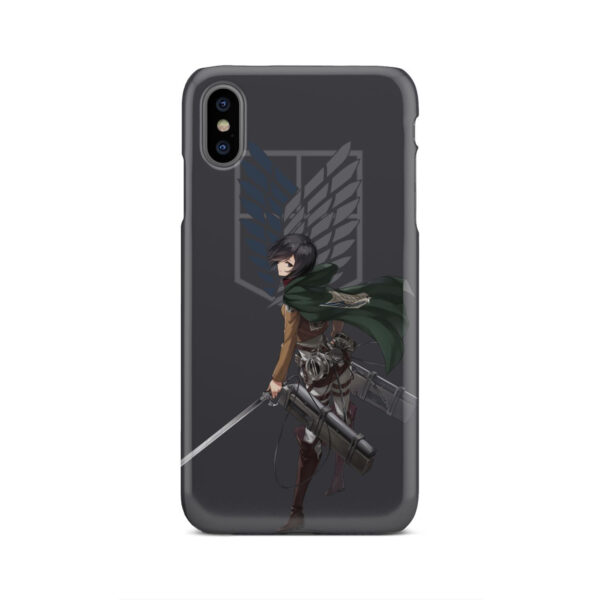 Attack On Titans Mikasa for Amazing iPhone XS Max Case Cover