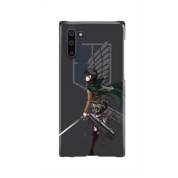 Attack On Titans Mikasa for Amazing Samsung Galaxy Note 10 Case Cover